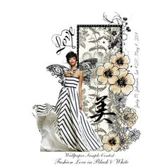 """""""Fashion Love in Black & White"""" by judymjohnson on Polyvore"""