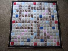 Grandma's Scrabble Quilt