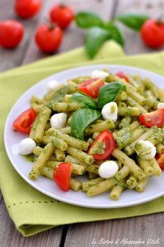 Caprese Salad Recipe, Pasta Salad Recipes, Italian Dishes, Italian Recipes, Confort Food, Light Recipes, Food Porn, Good Food, Food And Drink