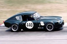 Triumph GT6 enjoying some track time. LUV these body styles.