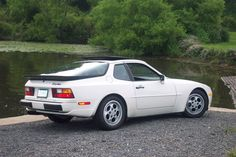 I don't normally like Porsche's, but there's a 1988 white 944 Turbo for sale down the road.  Asking prices is $6900, and it only has $76k miles.  SWEET little ride...And I bet it would be a helluva lotta fun!
