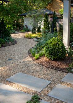 Gravel Garden Design Ideas, Pictures, Remodel and Decor