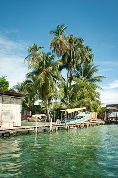 One of the many faces of Bocas del Toro, Panama.