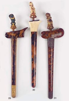 Magical Power, Javanese, Lombok, Swords, Knives, Weapons, Culture, Traditional, Stone