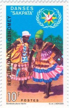 """Benin - Danse """"SAKPATA"""""""