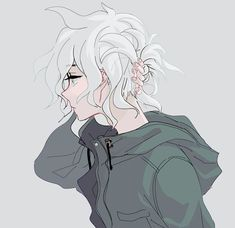 Imagen de anime boy and nagito komaeda