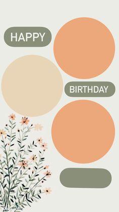 Happy Birthday Template, Happy Birthday Frame, Happy Birthday Posters, Happy Birthday Wallpaper, Birthday Posts, Birthday Captions Instagram, Birthday Post Instagram, Instagram Emoji, Instagram Story Ideas