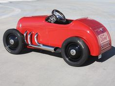 *PEDAL CAR ~ 1932 Ford Custom Pedal Car