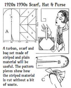 instructions for making a turban