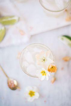 Elderflower Margaritas   lark & linen #cocktailrecipe #margarita
