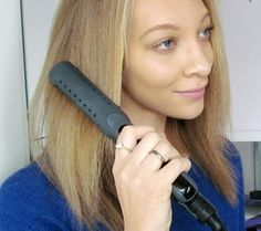 A review of the Tame Flat Iron, which can be used on both damp and dry hair!