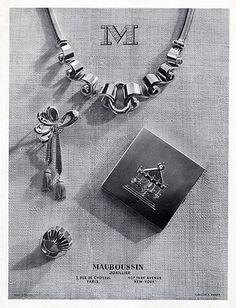Mauboussin (Jewels) 1946 Set of Jewels