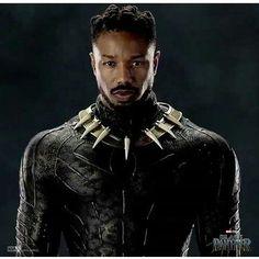 Hq Marvel, Marvel Dc Comics, Marvel Heroes, Marvel Movies, Marvel Cinematic, Black Panther 2018, Black Panther Marvel, Michael Bakari Jordan, Erik Killmonger