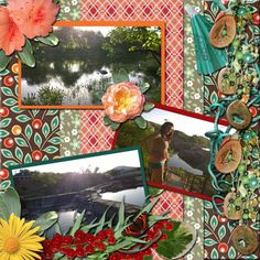 {June 16} Our LOTD goes to dannie18 for the stunning Summer Splendor. The fabulous backgrounds remind of a cozy summer quilt, perfect to picnic on next to the gorgeous lake in these photo's. She used Manu Scraps' Summerlicious.