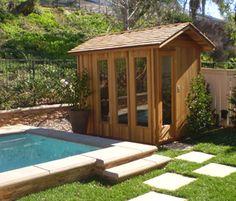 Really want an outdoor sauna