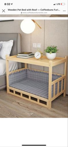 Home Projects, Home Crafts, Diy Home Decor, Room Decor, Diy Pour Chien, Diy Dog Bed, Dog Rooms, Cat Room, Pet Furniture