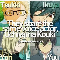 "4,120 Likes, 78 Comments - ANIME FACTS 26.7 K (@animefacty) on Instagram: ""QOTD; Your favorote voice actor ? . Follow @animefacty for more cool facts ! Credits @animecheck…"""