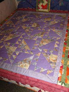 Pykó Patchwork: Indián ösvény lilában