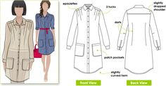 Pattern Review: StyleArc Artist Tunic