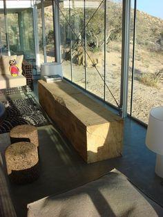 legno panca tronco IT House