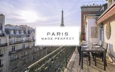 A new look, a new name, a new vision for making your Paris stay perfect!  As a devoted fan of Paris Perfect we are happy to introduce you to our exciting new look, our exciting new name, and the exciting new services we are providing. Please join us in celebrating the launch of Paris Made Perfect. To share our excitement, we have a special sale going on now offering free nights in Paris!