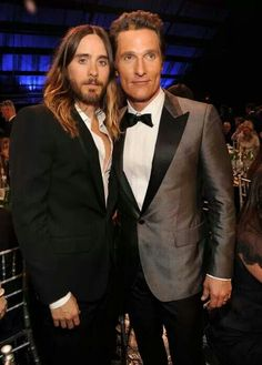 Jared e Matthew - Critcs Choice Movie Awards