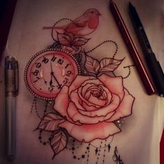Time...it's previous and can't be wasted. I like these three together