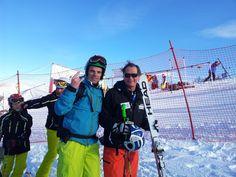@cristiangemmato meets Kaiser Franz Klammer #Badkleinkirchheim Skiing, Meet, Winter, Ski, Winter Time, Winter Fashion