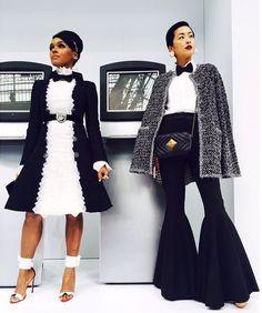 janelle monae fashion week