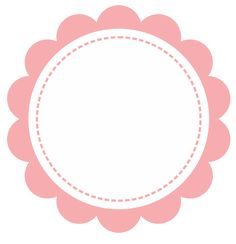 Layouts e templates para blogs e lojas virtuais Cake Logo Design, Logo Cookies, Diy And Crafts, Paper Crafts, Baby Shawer, Flower Frame, Projects To Try, Creations, Clip Art