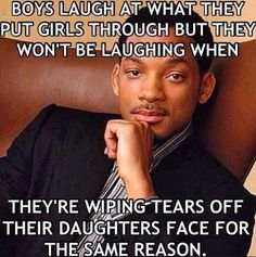 This is so true, why do some guys think this is funny? Drop a like if you agree