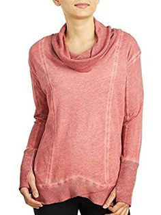 Miraclebody Women's Teri Thermal Cowl, Salmon, Small at Amazon Women's Clothing store: