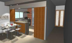 cozinha americana simples - Pesquisa Google