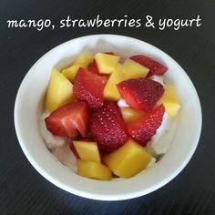 21 Day Fix: Greek Yogurt with Fruit Recipe: http://kendrafletcherfitness.com/2015/02/11/greek-yogurt-with-fruit/