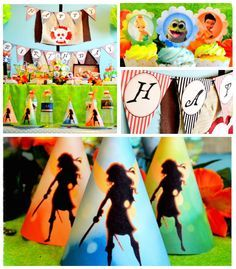 Pirate Fairy themed birthday party via Kara's Party Ideas KarasPartyIdeas.com Printables, cake, cupcakes, favors, games, and more! #fairypar...