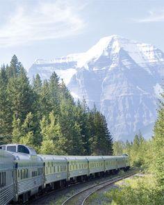 Train trip through Canada!