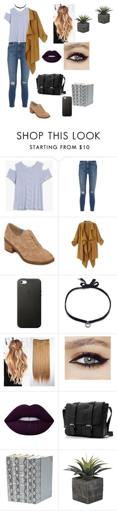 """""""Untitled 9"""" by alexa-borcea on Polyvore featuring LnA, Frame Denim, POP, Chicnova Fashion, DANNIJO, Lime Crime, casual, school, clean and indie"""