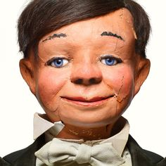 'Talking Heads': Puppets from the past Hand Puppets, Finger Puppets, Creepy Faces, Creepy Things, Ventriloquist Puppets, Scary Dolls, Doll Head, Sweet Life, Rolling Stones