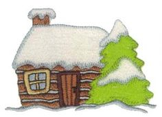 Amazing Designs BMC 111 Winter Wonderland Collection Brother Embroidery Card