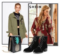 """""""Sheinside XI/4"""" by ruza66-c ❤ liked on Polyvore featuring Sheinside and shein"""