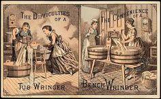 """Résultat de recherche d'images pour """"home washing machine & wringer"""""""