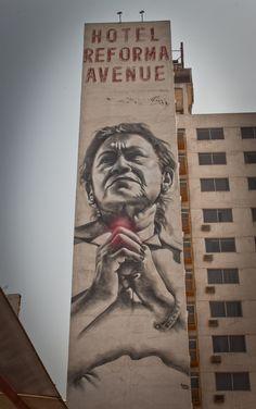 EL MAC & ROA Murals for All City Canvas Festival (Mexico City)