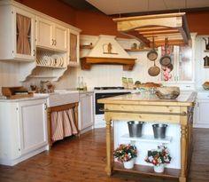 mobili e arredamento cucina in stile country