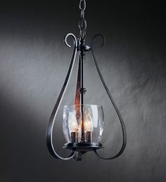 Sweeping Taper 3 Arm Chandelier - 101474