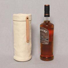 Minimalistische wijn Tote tas lederen behandeld wijn Gift