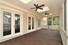 Screened porches are so nice because then you can be outside without the bugs :) want to do this under the deck