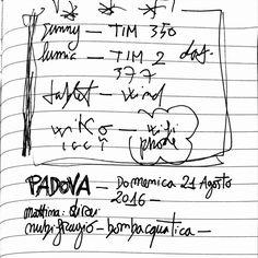 Annotazioni uso eccesso di smartphone... #sketchnote #writing #journal