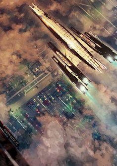 Mass Effect: Normandy SR-2 by Jael-Kolken