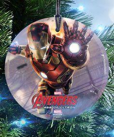 Loving this Iron Man StarFire Prints™ Ornament on #zulily! #zulilyfinds