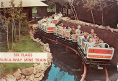 Runaway Mine Train ~ Six Flags Over Texas